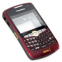 Buy cheap Replace BlackBerry Cell Phone Full Housing Kit of Original for Curve 8350i in Red, Black from wholesalers