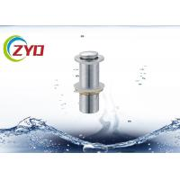 Buy cheap 304 SS Pop Up Sink Drain Pipe Without Overflow Hole Brass Filter Net from wholesalers