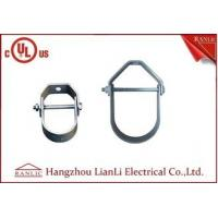Buy cheap UL Listed 1/2 to 6 Steel Clevis Hanger Rigid Conduit Fittings Electro Galvanized from wholesalers