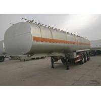 Buy cheap 3 Axles 50000 Liters Semi Trailer Truck Fuel Tanker For Carrying / Storing Oil from wholesalers