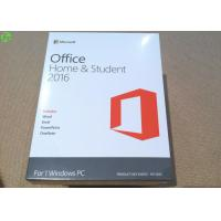 Buy cheap Microsoft office 2016 product key card home and student on line activation key from wholesalers