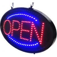 Buy cheap Running Lights Small LED Open Sign Red Blue Color Hanging For Wall/Glass Window from wholesalers