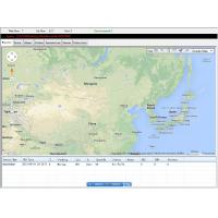 Buy cheap All Maps Web Based GPS Vehicle Tracking System Software Support Multi Language from wholesalers
