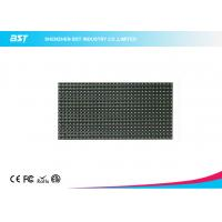 Buy cheap P10 LED Display Module 320mm X 160mm / 32 X 16 Pixels Video Greenl Color Led Panel from wholesalers