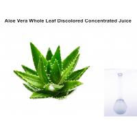 Buy cheap Off - White Ropy Liquid  Aloe Vera Extract Powder Whole Leaf Discolored Concentrated Juice from wholesalers