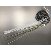 Buy cheap Straight Hot Runner Coil Heaters With J Type Thermocouple And Black Silicone Cable from wholesalers