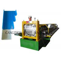 Buy cheap Portable Metal Roofing Sheet Roll Forming Machine , Standing Seam Roof Panel Machine from wholesalers