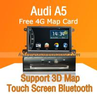 Buy cheap Car DVD Multimedia Head Unit with GPS Digital TV fit Audi A5 from wholesalers