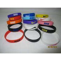 Buy cheap Sell hot N-ike useful power bracelet healthy balanced wrist band anion designer silicone from wholesalers