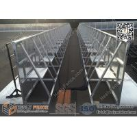 Buy cheap HESLY Aluminium Stage Barrier from wholesalers