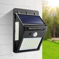 Buy cheap Rechargeable Solar Motion Sensor Light ON / OFF Automatically For Outdoor Garden from wholesalers