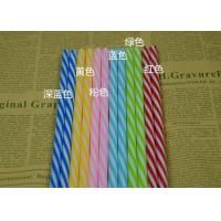 Buy cheap Wedding banquet fruit juice beverage Colored Paper Straws for drinking from wholesalers