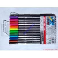 Buy cheap 24 colors fineliner 0.4mm marco pen multi color pen,water color pen wholesale from wholesalers