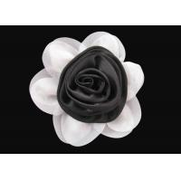 Buy cheap Brilliant Black and White Fabric Flower Wrist Corsage Lovely for Dress And Hat from wholesalers