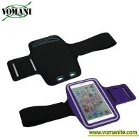Buy cheap Universal Sport Armband wrist mobile phone case for apple iphone with PVC waterproof from wholesalers