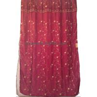 Buy cheap organza embroidered curtain,finished window curtain product