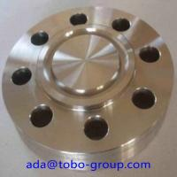 Buy cheap Copper Nickel Alloy 70/30 Forged Steel Flanges Class 150 SCH40 14'' B16.9 product