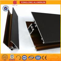 Buy cheap T5/ T6 Industrial Aluminium Profiles Rich Wood Pattern UV Protection from wholesalers