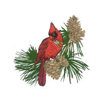 Buy cheap Bird Machine and Home Embroidery Designs digitizing on the pinetree  from wholesalers