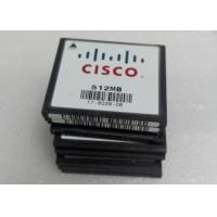 Buy cheap Cisco Original 512MB Compact Flash Memory Card For 1800 2800 3800 Routers from wholesalers