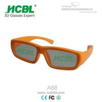 Buy cheap Fashion Kid 3D Display Glasses For Primary School Students In Cinema from wholesalers