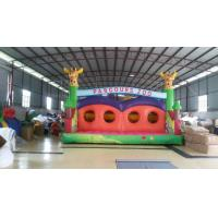 Buy cheap Fireproof Funny Inflatable Sports Games Colored Castle For Children Playing from wholesalers