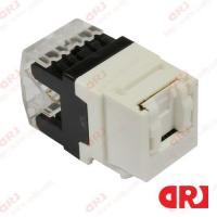 Buy cheap UTP Cat5e Rj45 Keystone Jack with Dust Proof Shutter , Dual IDC Type from wholesalers