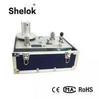 Buy cheap Piston hydraulic  0.005 accuracy 0.1~100MPa dead weight tester pressure gauge calibration machine product