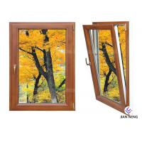 Buy cheap Inward Tilt Turn Aluminium Windows And Doors Wooden Color With Powder Coating from wholesalers