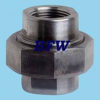 Buy cheap CARBON STEEL FORGED THREADED FITTINGS 2000#, 3000#,6000#, 9000# from wholesalers