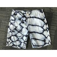 Buy cheap HOT Men's short white blue anomaly printed board Shorts New style from wholesalers
