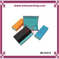 Buy cheap Magnetic closure cardboard paper box, printed color paper box for glass ME-SG010 from wholesalers