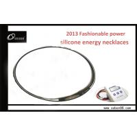 Buy cheap Silicone power necklace / titanium chain necklace with ion various color from wholesalers