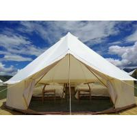 Buy cheap Glamping Luxury Yurt Bell Fire Retardant Tarpaulin Safari Tent Waterproof Canvas Fabric from wholesalers