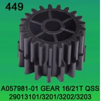 China A057981-01 GEAR TEETH-16/21 FOR NORITSU qss2901,3101,3201,3202,3203 minilab on sale