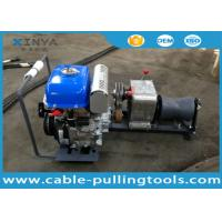 Buy cheap Light Weight JJM1Q YAMAHA Cable Pulling Winch 1 Ton , Gasoline Powered Winch from wholesalers