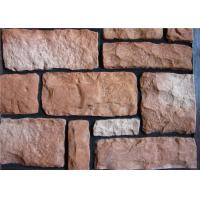 Buy cheap Lightweight Faux Stone Panels Interior Wall , Faux Veneer Stone For Villa / Hotel Hall from wholesalers