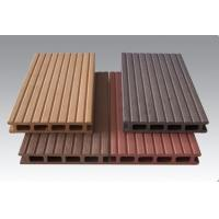 Buy cheap Wood Plastic Composite Outside Round And Square Circular Hollow Wpc Decks from wholesalers