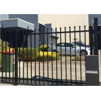 Buy cheap Wrought Iron Garden Fence Panels , Ornamental Iron Fence Panels Anti Climbing from wholesalers