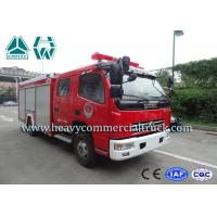 Buy cheap 25 CBM 4 Tons Dongfeng High Speed Fire Fighting Truck  With Fire Pumps from wholesalers