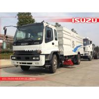 Buy cheap 10m3 Isuzu FTR Multi-Functional road sweeper export to Myanmar from wholesalers