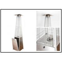 Buy cheap Pyramid Outdoor Standing Propane Heater , Patio Floor Heater CE Certification from wholesalers