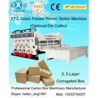 Buy cheap High Speed Packaging Paper Carton Making Machine Of Cardboard , PLC Control from wholesalers