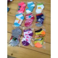Buy cheap Wholesale price Any logo can be print crochet baby socks from wholesalers