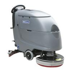 Buy cheap Gray Walk Behind Floor Cleaning Machines / Ceramic Tile Floor Cleaner Machine from wholesalers