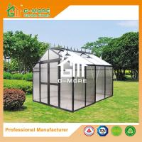 Buy cheap 258X253X250CM Black Color Imperial Series Double Door Aluminum Greenhouse from wholesalers