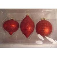 Buy cheap Hand made Glass Ball Ornaments with Paint from wholesalers