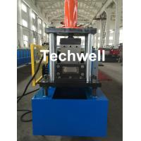 Buy cheap Industrial Shelf Rack Shelving Box Beam Cold Roll Forming Machine with 4 Box Interlock Machine Forming Stations from wholesalers