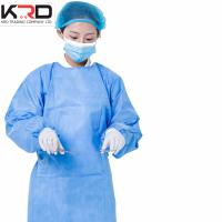 Buy cheap surgical gown or medical scrubs with waterproof nonwoven fabric roll from wholesalers