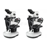 Buy cheap 0.67X - 4.5X Fluorescent Zoom Gem Stereo Microscope With Digital Camera from wholesalers